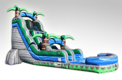 Cascade Crush Water Slide Rental