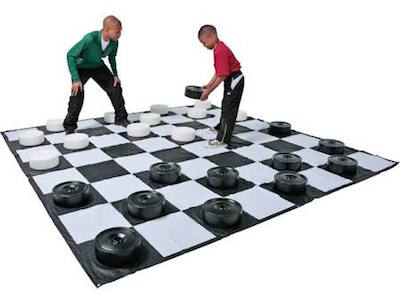 Giant Checkers Game Rental