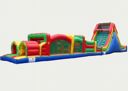 Extreme XL 72ft Obstacle Course Rental