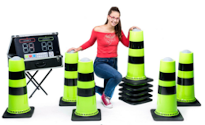 Interactive Cone Game Rental