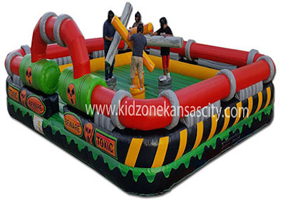 Inflatable Toxic Joust Rental